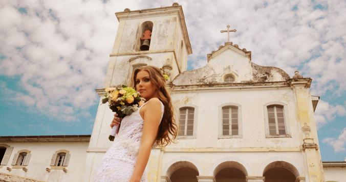 Igreja Nossa Senhora do Amparo - São Sebastião - Espaço Viela da Praia